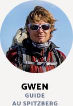 Gwen, guide au Spitzberg - Grand Nord Grand Large