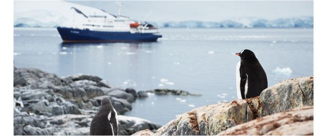 Navigation et camp de base en Antarctique © APT