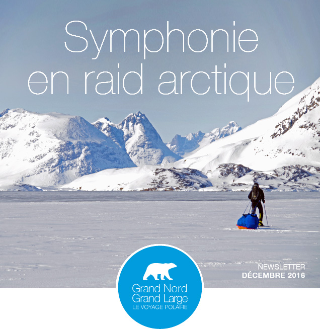 Symphonie en raid arctique © Annick Terrier