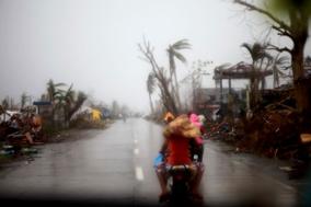 Typhon aux Philippines