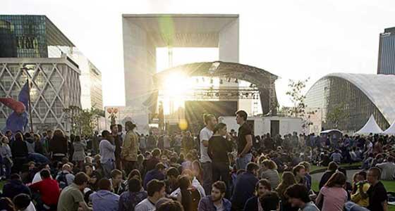 Les concerts gratuits de la Défense Jazz Festival