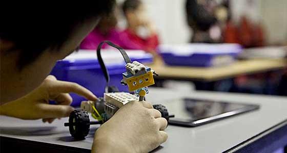 Studio Lego® a la Cité des sciences et de l'industrie