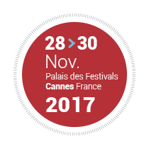 28-30 November 2017 - Palais des Festivals, Cannes, France