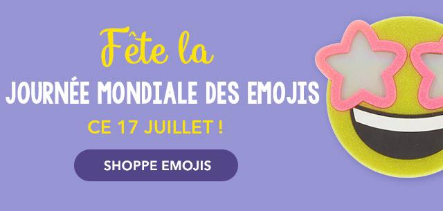 Fête la Journée Mondiale des Emojis ce 17 juillet ! - SHOPPE EMOJIS