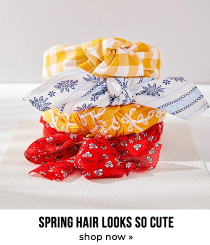 Spring hair looks so cute
