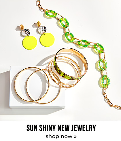 Sun shiny new jewelry