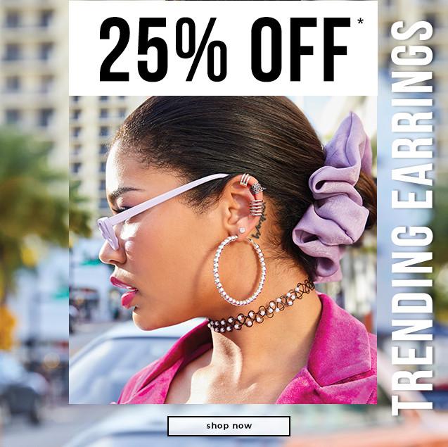 25% OFF* Trending Earrings