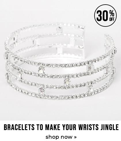 Bracelets to make your wrists jingle