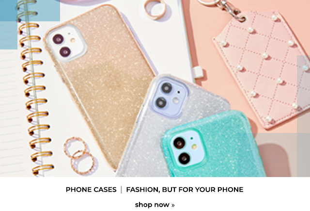 Phone Cases: Fashion, but for your phone