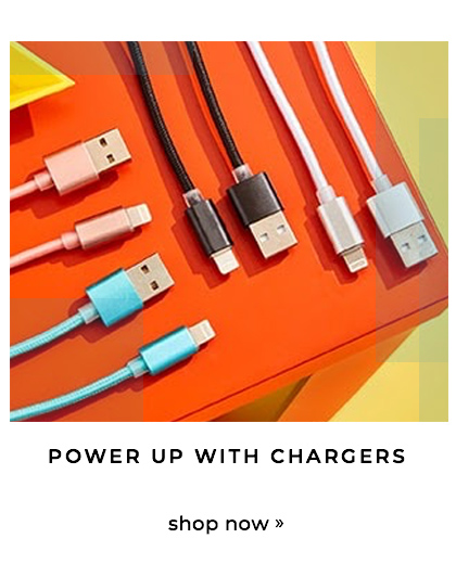 Power up with chargers