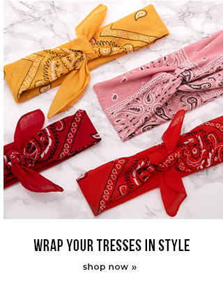 Wrap your tresses in style
