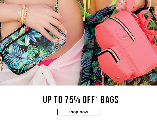 Up To 75% OFF* Bags