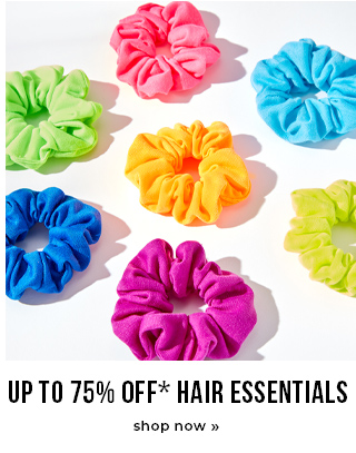 Up To 75% OFF Hair Essentials