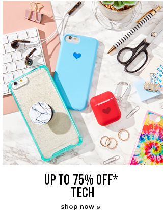 Up To 75% OFF* Tech