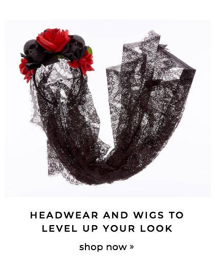 Headwear & wigs to level up your look