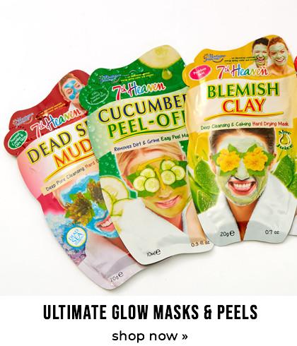 Ultimate glow masks & peels