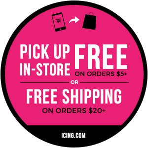 Pick up free in-store on orders $5+ or free shipping on orders $20+