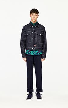 'Bamboo Tiger' Denim Jacket
