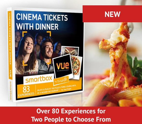 Cinema tickets with dinner