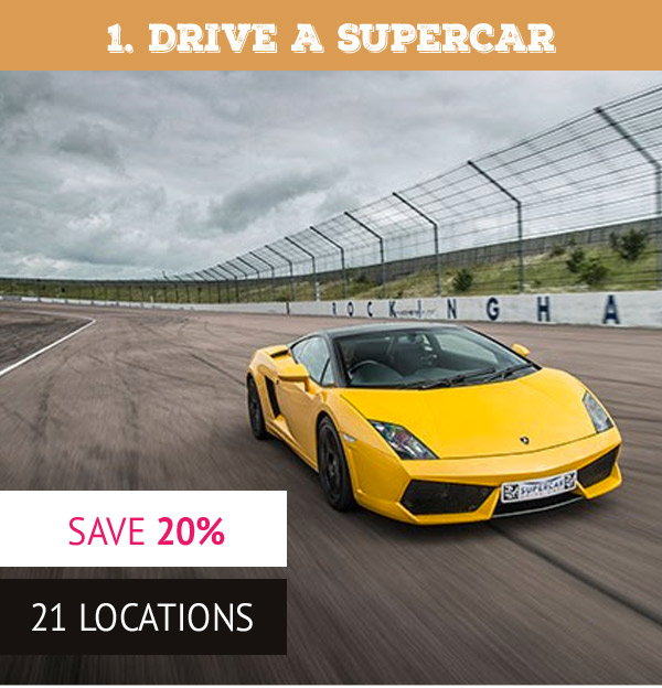 Triple Supercar Driving Blast with Free High Speed Passenger Ride - was £99 now £79