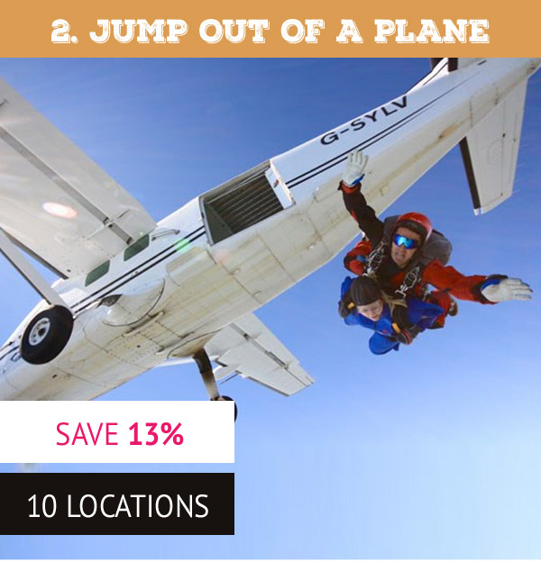 Tandem Skydive - Was £285 now £249