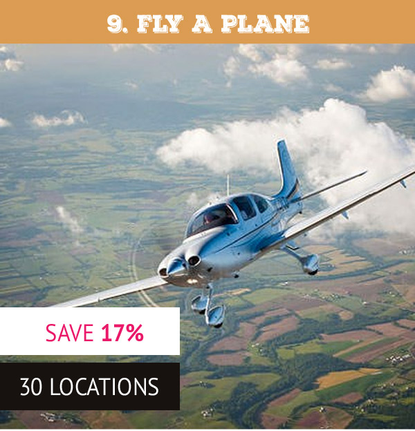 30 Minute Introductory Flying Lesson - Was £125 Now £104