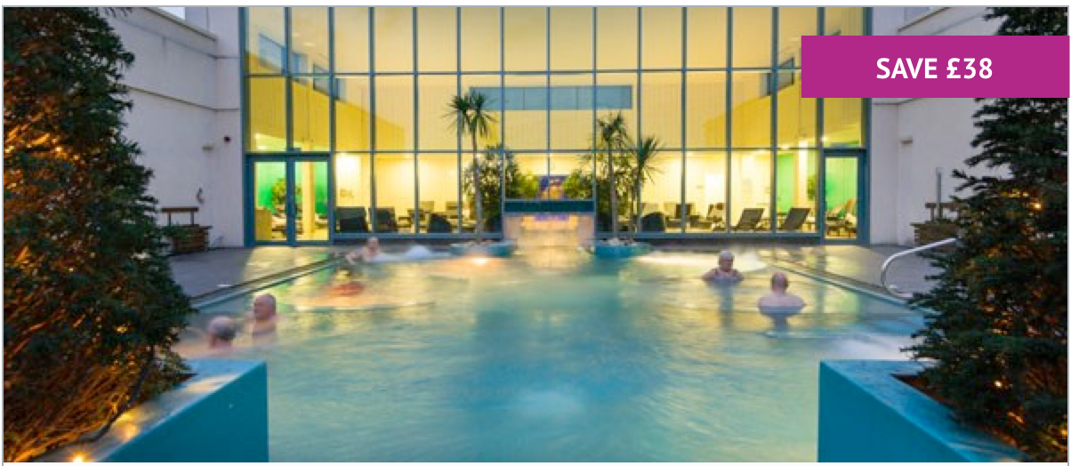 4* Deluxe Spa Escape with Breakfast for Two at The Malvern - Includes Leisure Access - £142