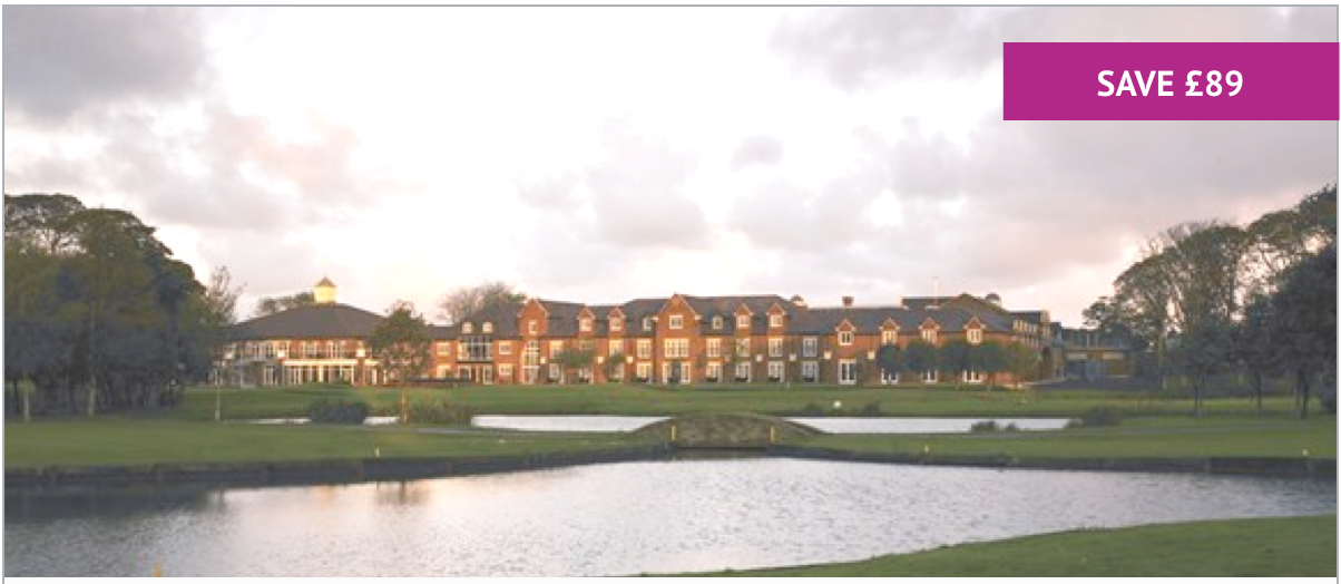 Overnight Spa Stay with Breakfast, 2-Course Dinner & Wine for Two at Formby Hall - Includes Treatment each & Leisure Access - £199