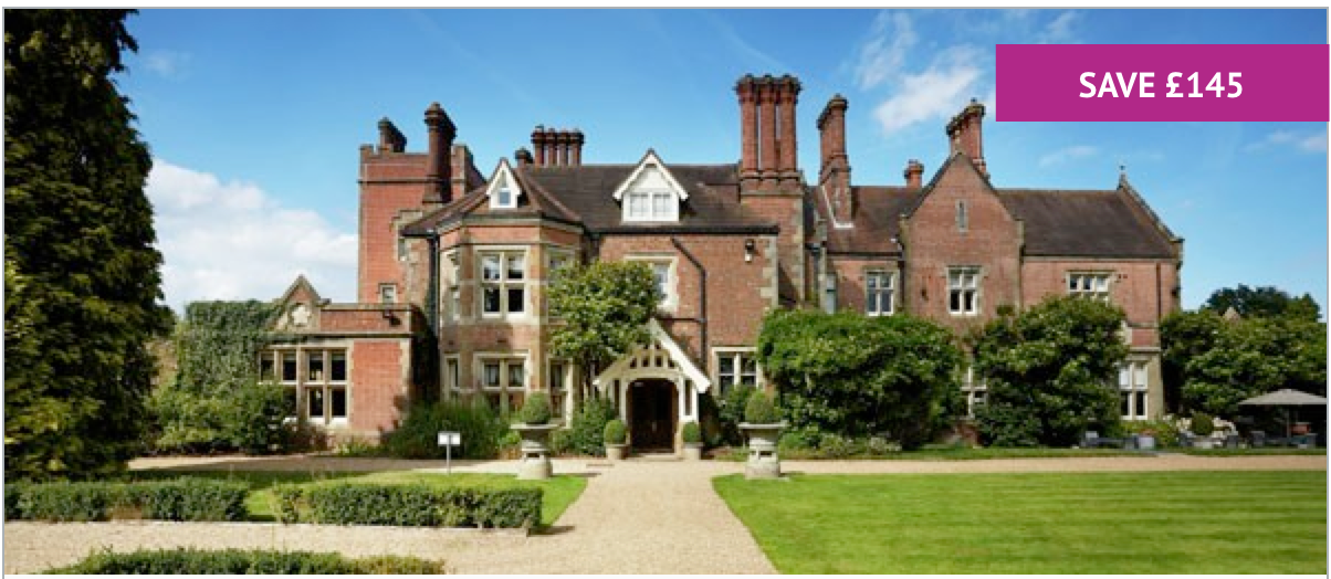 5* Overnight Spa Break for Two with Treatment Each at Alexander House - Includes Treatment each & Leisure Access - £399