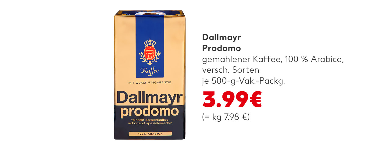 Dallmayr - Prodomo