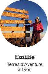 Emilie, Terres d'Aventure à Lyon
