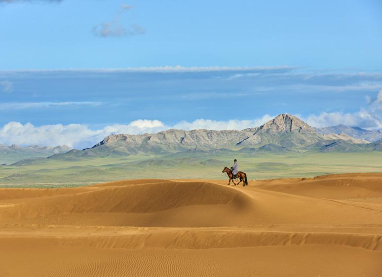 Entre ciel et steppe
