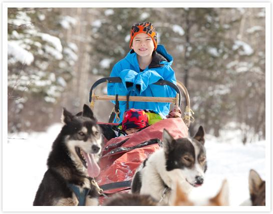 Être musher à tout âge, c'est possible © ImagineGolf