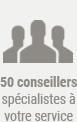 50 conseillers spécialistes voyage à votre service